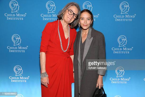 Brooke Garber Neidich and MaryKate Olsen attend Child Mind Institute 2019 Child Advocacy Award Dinner at Cipriani 42nd Street on November 19 2019 in...