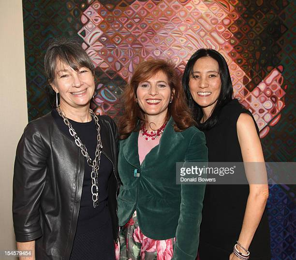 Brooke Garber Neidich Jennifer Raab and Julie Minskoff attend The Child Mind Institute's On the Shoulders of Giants Symposium with Nobel Laureate...