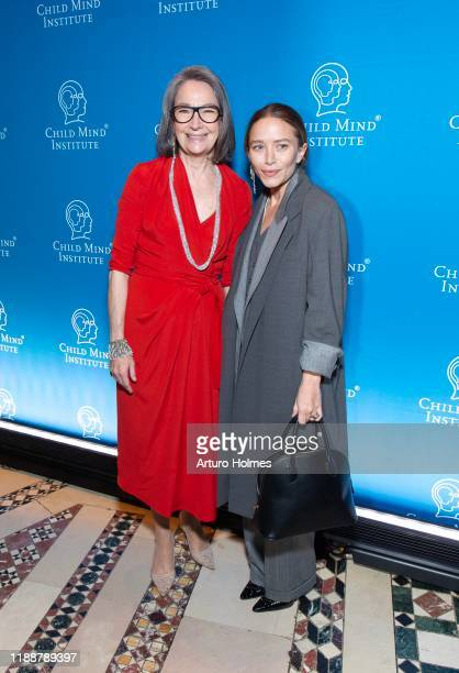Brooke Garber Niedich and MaryKate Olsen attend Child Mind Institute Advocacy Dinner at Cipriani 42nd Street on November 19 2019 in New York City
