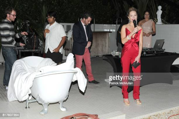 Brooke Geahan attends Playboy presents the NUDE IS MUSE An Art Salon for Art Basel Miami 2010 at The Standard Hotel on December 4 2010 in Miami...