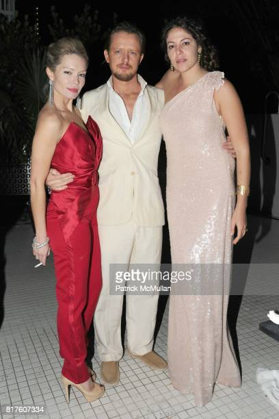 Brooke Geahan Edward Chapman and Lola Schnabel attend Playboy presents the NUDE IS MUSE An Art Salon for Art Basel Miami 2010 at The Standard Hotel...