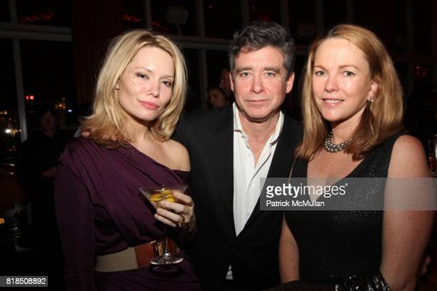 Brooke Geahan Jay McInerny Anne Hearst attend The Launch of SASHA LAZARD'S Myth of Red Concert Series at the Top of The Standard Hotel on December 09...