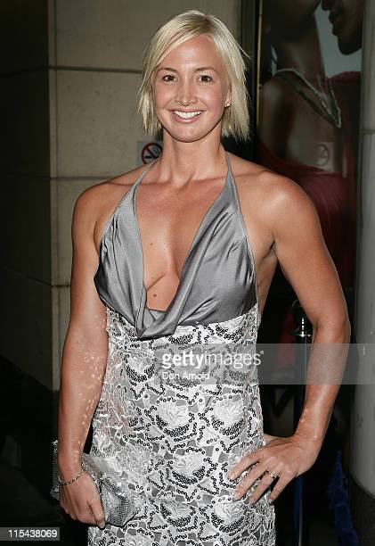 Brooke Hansen attends the official Telstra launch for T at the Telstra Building on October 31 2007 in Sydney Australia
