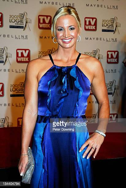 Brooke Hanson during 2007 TV Week Logie Awards Arrivals at Crown Casino in Sydney NSW Australia