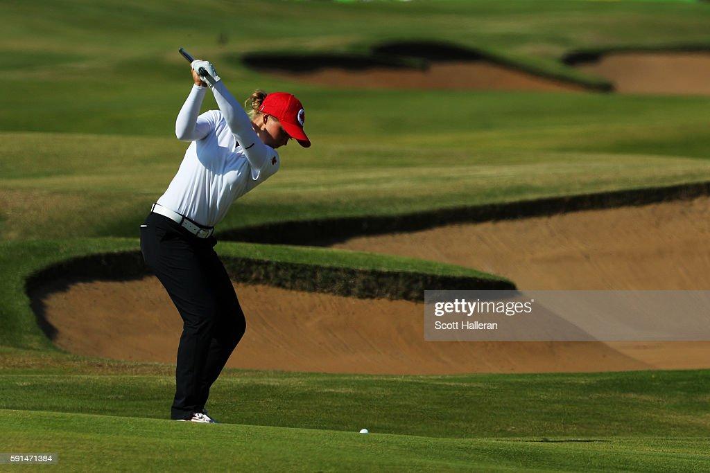 Golf - Olympics: Day 12