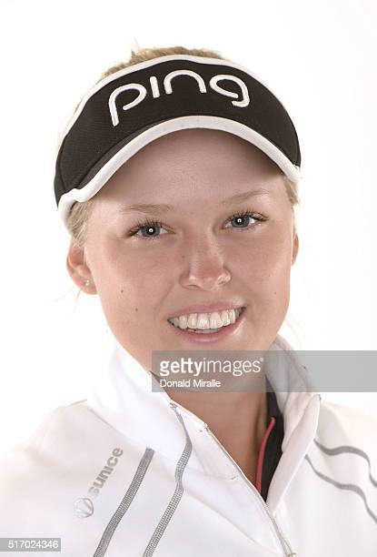 Brooke Henderson of Canada poses for a portrait during the KIA Classic at the Park Hyatt Aviara Resort on March 22 2016 in Carlsbad California