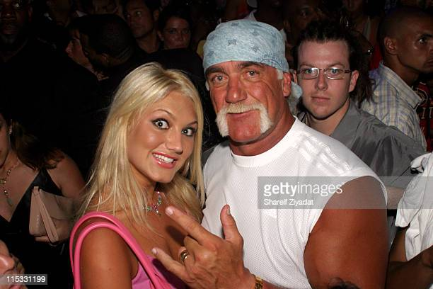 """Brooke Hogan and Hulk Hogan during Saturn Presents Sean """"P. Diddy"""" Combs Citizen Change and MTV Choose or Loose Vote or Die Pre-VMA Party at Mansion..."""