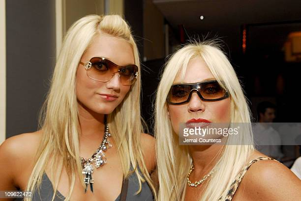 Brooke Hogan and Linda Hogan during Sirius Suites Produced by On 3 Productions Day 2 at W HotelTimes Square in New York City New York United States