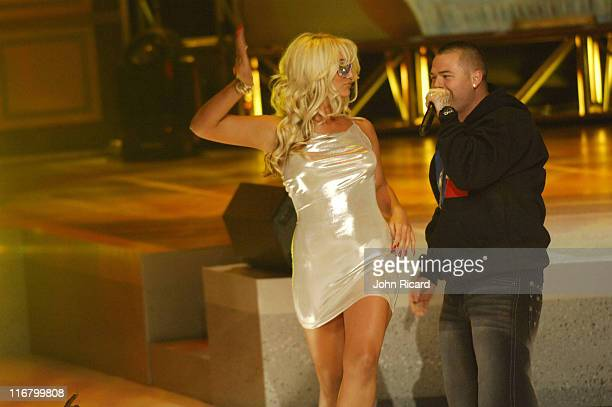 Brooke Hogan and Paul Wall during BET's Rip the Runway 2007 Show at Hammerstein Ballroom in New York City New York United States