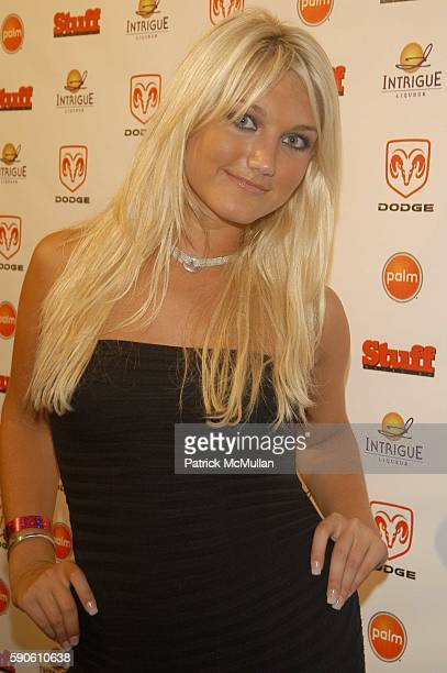Brooke Hogan attends STUFF Magazine presents Very Miami afterparty at Moore Building Miami FL USA on August 26 2005