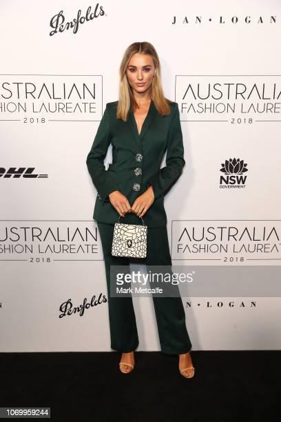 Brooke Hogan attends the 2018 Australian Fashion Laureate Awards on November 20 2018 in Sydney Australia