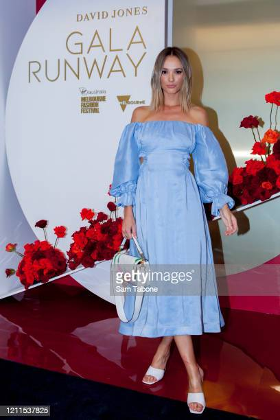 Brooke Hogan attends the Gala Runway 1 show at Melbourne Fashion Festival on March 10 2020 in Melbourne Australia