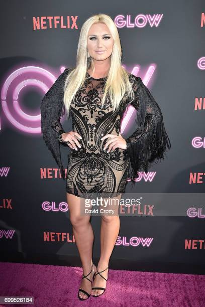 Brooke Hogan attends the Premiere Of Netflix's 'GLOW' Arrivals at The Cinerama Dome on June 21 2017 in Los Angeles California