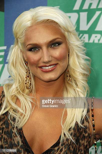 Brooke Hogan during 2006 MTV Movie Awards Arrivals at Sony Pictures in Culver City California United States