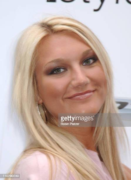 Brooke Hogan during 2006 MTV Video Music Awards Style Villa at Bryant Park Hotel in New York City New York United States