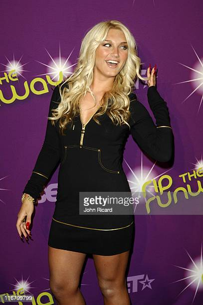 Brooke Hogan during BET's Rip the Runway 2007 Arrivals at Hammerstein Ballroom in New York City New York United States