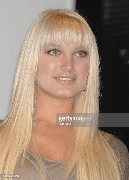 Brooke Hogan during Brooke Hogan Holds a Press Conference to Promote her Debut Album 'UNDISCOVERED' in Japan at Pony Canyon in Tokyo Japan