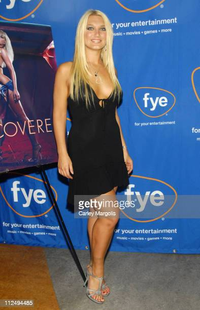 Brooke Hogan during Brooke Hogan Signs Her New CD 'Undiscovered' October 24 2006 at FYE in New York City New York United States