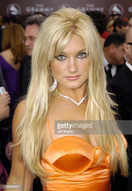 Brooke Hogan during The 47th Annual GRAMMY Awards Arrivals at Staples Center in Los Angeles California United States