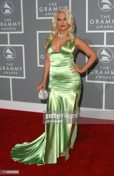 Brooke Hogan during The 49th Annual GRAMMY Awards Arrivals at Staples Center in Los Angeles California United States