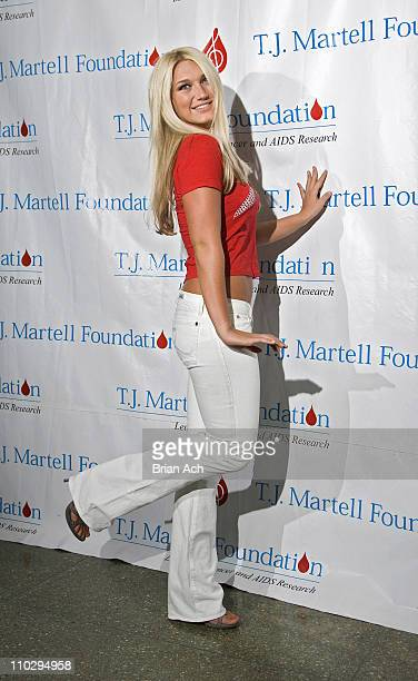 Brooke Hogan during TJ Martell Foundation Hosts Its 8th Annual Family Day at The Roseland Ballroom in New York City New York United States
