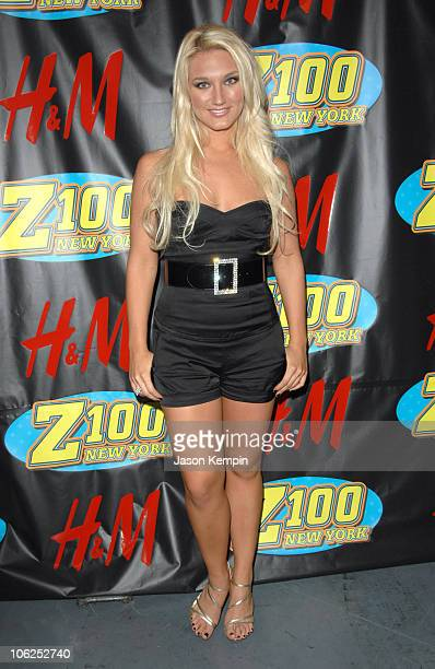 Brooke Hogan during Z100's Jingle Ball 2006 Press Room at Madison Square Garden in New York City New York United States