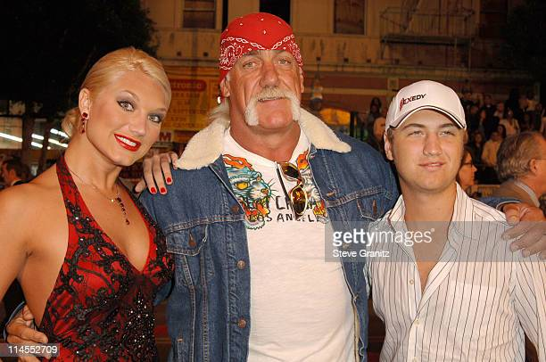 Brooke Hogan Hulk Hogan and Nick Hogan during Paramount Pictures' 'Get Rich or Die Tryin'' Los Angeles Premiere Arrivals at Grauman's Chinese Theatre...