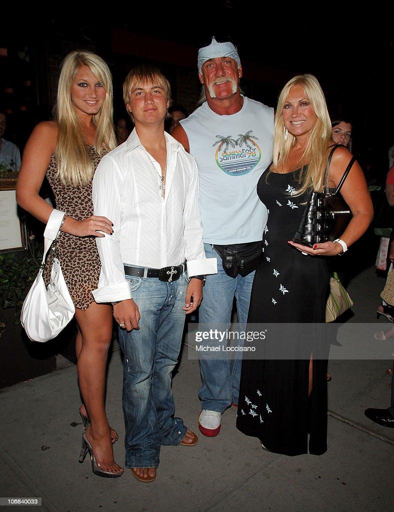 Hulk Hogan, Brooke Hogan and Family Sighting at Vento Restaurant in New York