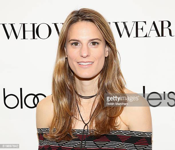 Brooke Jaffe attends Bloomingdales Festival Dressing Event on April 7 2016 in New York City