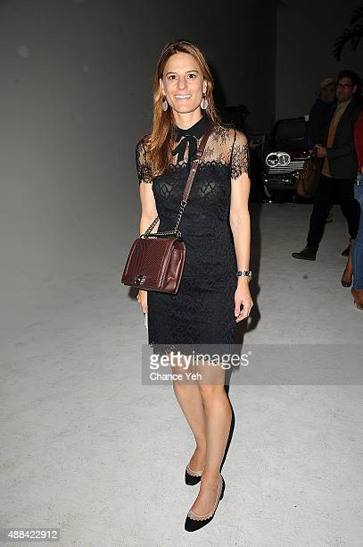 Brooke Jaffe attends HANLEY SS16 Collection Presentation at Hudson Mercantile on September 15 2015 in New York City