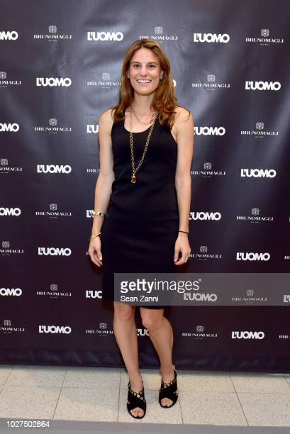 Brooke Jaffe attends the Bruno Magli SoHo NY Store Launch Event In Partnership With L'Uomo Vogue at Bruno Magli on September 5 2018 in New York City