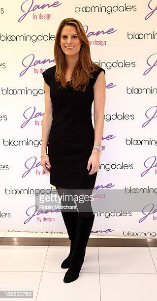 Brooke Jaffe attends the Jane By Design PopUp Fashion Exhibit kickoff at Bloomingdale's 59th Street Store on February 8 2012 in New York City