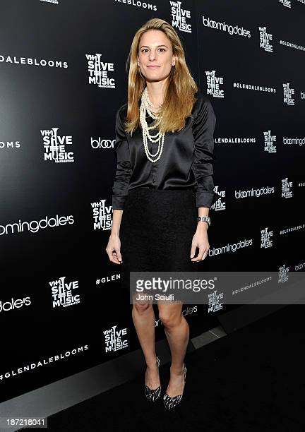 Brooke Jaffe operating vice president of Fashion Direction for Women's ReadyToWear attends Bloomingdale's Glendale opening gala celebration with VH1...