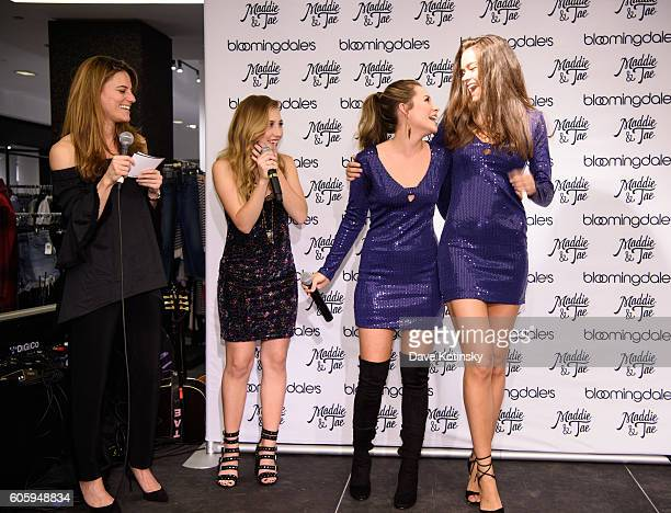 Brooke Jaffe Singer/songwriters Madison Marlow and Taylor Dye from Maddie Tae attend the Aqua X Maddie Tae Capsule Collection Celebration at...