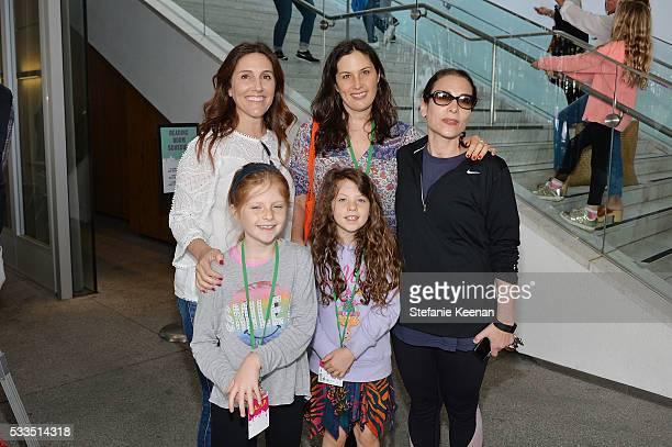 Brooke Kanter Jennifer Guidi Maddie Grotjahn Morgan Grotjahn and Ali Subotnick attend Hammer Museum KAMP 2016 on May 22 2016 in Los Angeles California