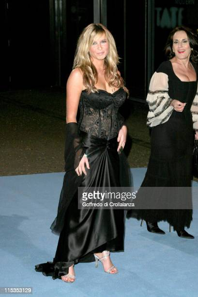 Brooke Kinsella and Lesley Joseph during The National Lottery Helping Hands Awards Arrivals at Tate Modern in London Great Britain Great Britain