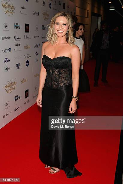 Brooke Kinsella attends the 16th Annual WhatsOnStage Awards at The Prince of Wales Theatre on February 21 2016 in London England