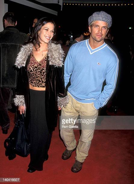 Brooke Langton and David Chokachi at the Premiere of 'Good Will Hunting', Mann Bruin Theatre, Westwood.