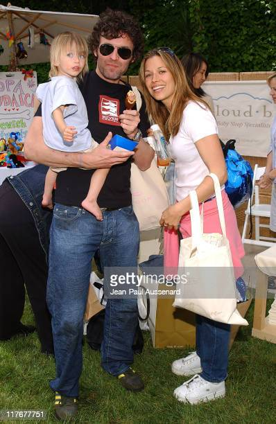 """Brooke Langton and family at Copa Judaica during Silver Spoon Dog and Baby Buffet"""" Benefitting Much Love Animal Rescue Day One at Private Residence..."""