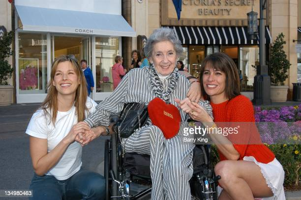 Brooke Langton and Frances Bay and Vanessa Parise