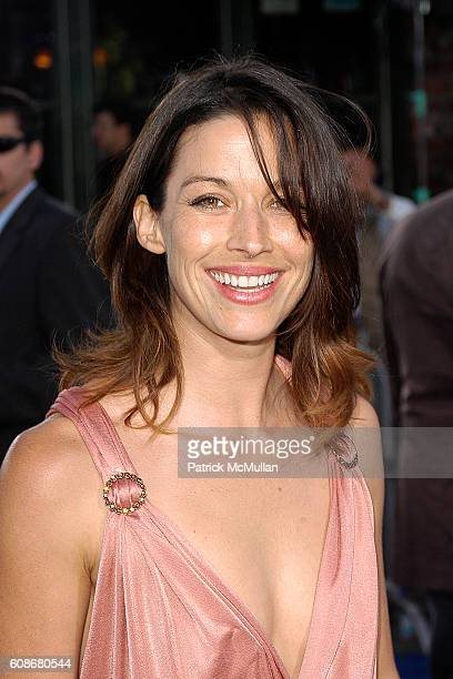 Brooke Langton attends 2007 Los Angeles Film Festival Premiere of Transformers at Westwood on June 27 2007 in Westwood California