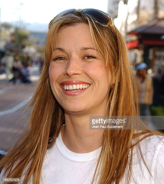 Brooke Langton during Kiss The Bride Cast Raise Funds for City Hearts at The Grove in Los Angeles California United States