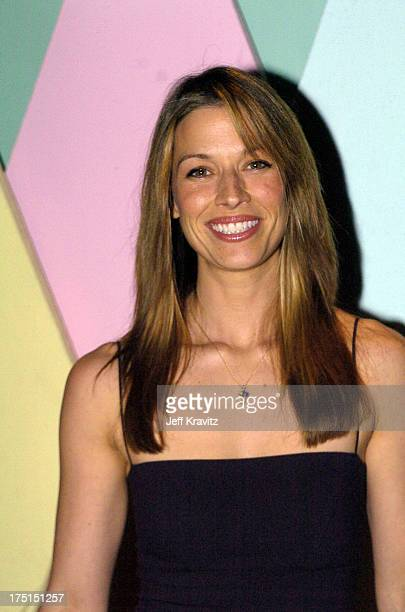 Brooke Langton during Kiss the Bride Launch Party at Monroe's in Hollywood California United States