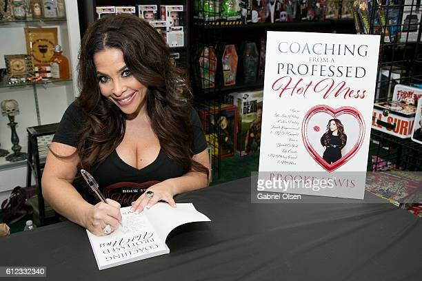 Brooke Lewis attends Brooke Lewis' Coaching From A Professed Hot Mess book signing and charity on October 1 2016 in Burbank California