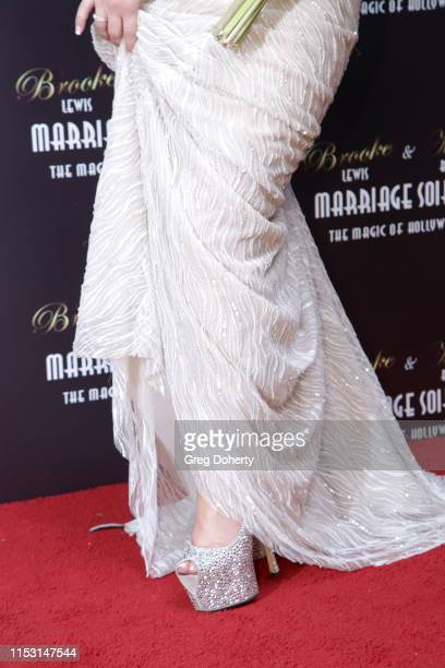 Brooke Lewis attends Brooke Mark's Marriage Soiree The Magic Of Hollywood at the Houdini Estate on June 01 2019 in Los Angeles California