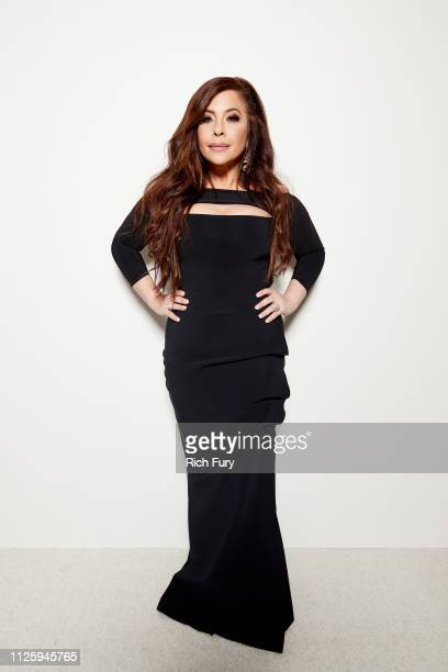 Brooke Lewis attends the 21st Costume Designers Guild Awards x Getty Images Portrait Studio presented by LG V40 ThinQ on February 19 2019 in Beverly...