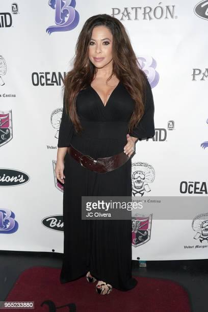 Brooke Lewis attends Velvet Margarita's 14th annual Cinco De Mayo Benefit Celebrity Charity Poker Tournament at Velvet Margarita on May 5 2018 in...