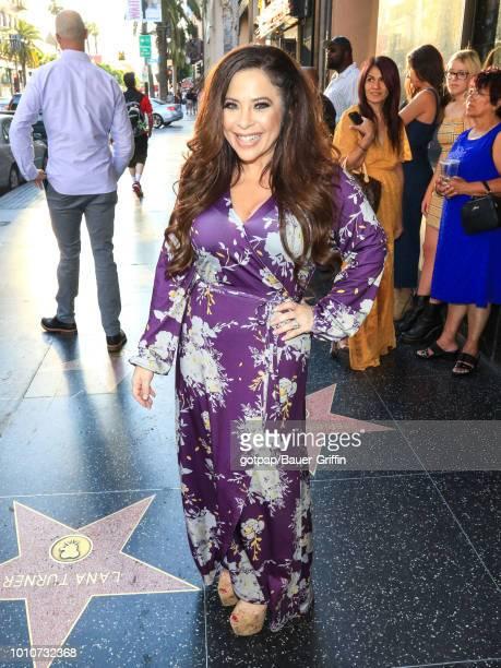 Brooke Lewis is seen on August 03 2018 in Los Angeles California