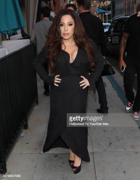 Brooke Lewis is seen on August 18 2018 in Los Angeles CA
