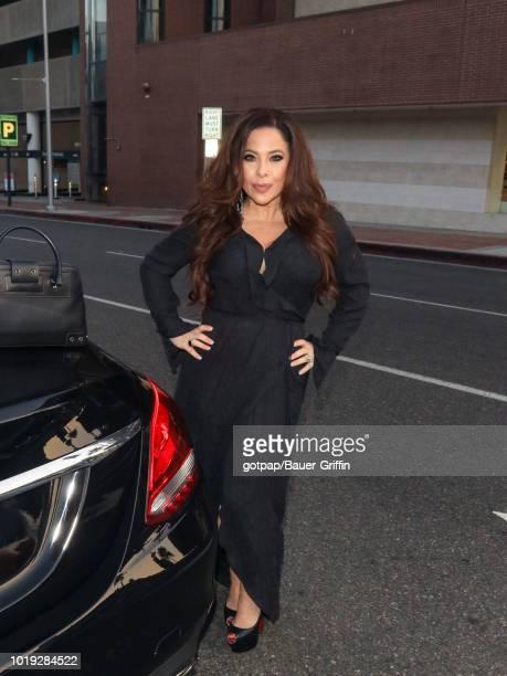 Brooke Lewis is seen on August 18 2018 in Los Angeles California